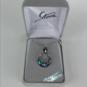 Storrs Wild Pearle Abalone Jewelry Necklace